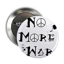 """No More War 2.25"""" Button"""