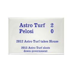 Astro Turf 2 Pelosi 0 Magnets