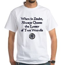 The Lesser of Two Weevils Shirt