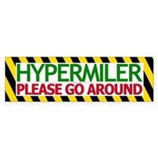 Please Go Around Bumper Bumper Sticker