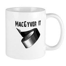 MacGyver It. Funny duct tape Mug