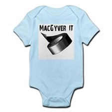 MacGyver It. Funny duct tape  Infant Bodysuit