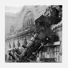 Train Wreck Tile Coaster