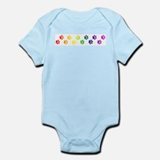 Paws All Over You Infant Bodysuit