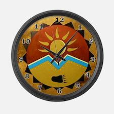 Sun Bear Large Wall Clock