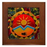 Bear paw Framed Tiles