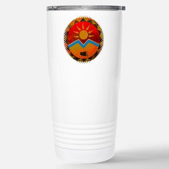 Sun Bear Stainless Steel Travel Mug