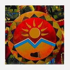 Sun Bear Tile Coaster