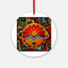 Sun Bear Ornament (Round)