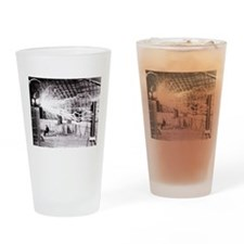 Nikola Tesla Drinking Glass