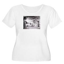 Nikola Tesla Plus Size T-Shirt