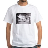 Science fiction Mens White T-shirts
