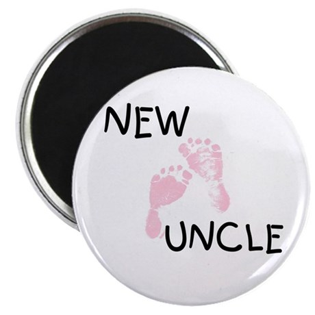 New Uncle (pink) Magnet