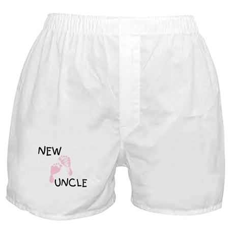 New Uncle (pink) Boxer Shorts