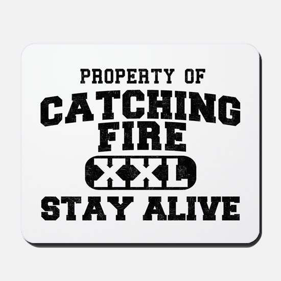 XXL Catching Fire Mousepad