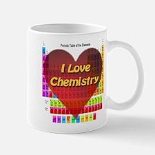 I Love Chemistry Small Mugs