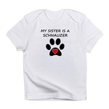 Schnauzer Sister Infant T-Shirt