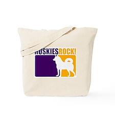 Huskies Rock! Tote Bag