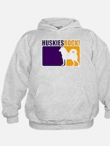 Huskies Rock! Hoodie