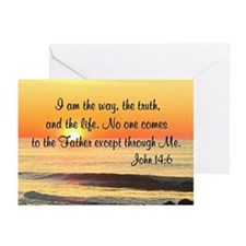 JOHN 14:6 Greeting Cards (Pk of 20)