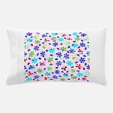 Retro Flowers Pillow Case
