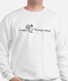 Happy Thanksgivukkah! Sweatshirt