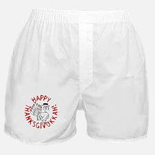 Happy Thanksgivukkah! Boxer Shorts