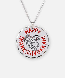 Happy Thanksgivukkah! Necklace