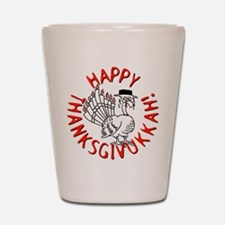 Happy Thanksgivukkah! Shot Glass