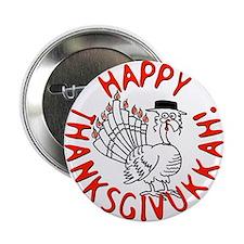 """Happy Thanksgivukkah! 2.25"""" Button"""