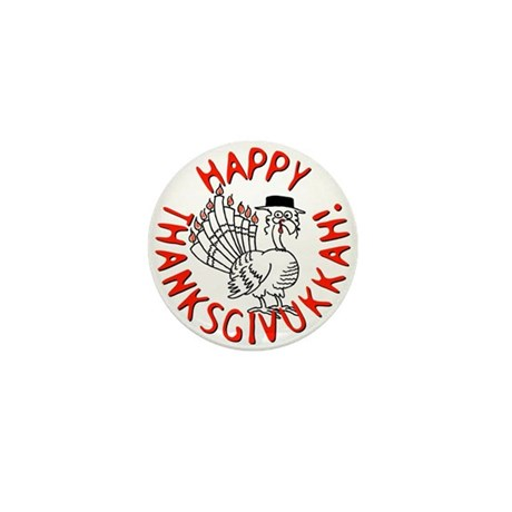 Happy Thanksgivukkah! Mini Button (10 pack)