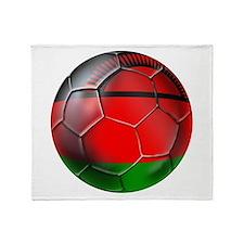 Malawi Football Throw Blanket