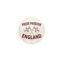 England Football Soccer Flags Mini Button (10 pack