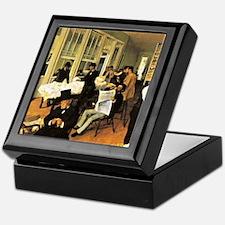 Degas - The Cotton Exchange Keepsake Box