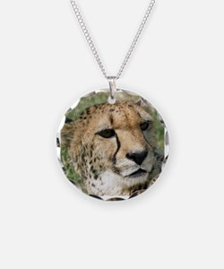 Cheetah006 Necklace