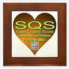 SQS Heart Framed Tile