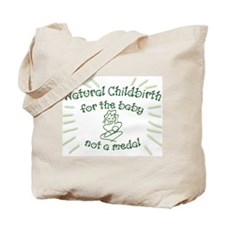 Natural Childbirth Tote Bag