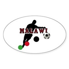 Malawi Football Player Decal
