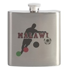 Malawi Football Player Flask