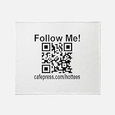 Follow Me! Throw Blanket