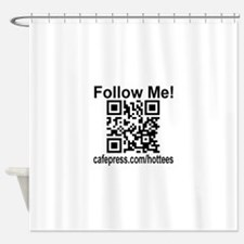 Follow Me! Shower Curtain