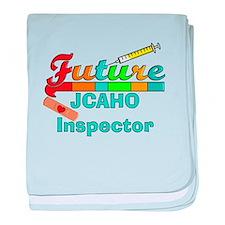 Future JACHO inspector 2 baby blanket