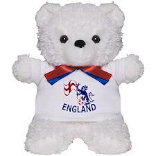 English St George Cross flag Teddy Bear
