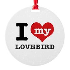 I love my Lovebird Ornament
