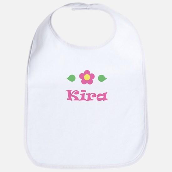 """Pink Daisy - """"Kira"""" Bib"""