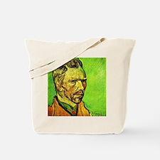 Van Gogh - Self-Portrait, 1888 Tote Bag