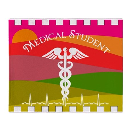 medical student 1 Throw Blanket