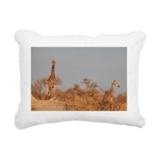 Girraffe Rectangular Canvas Pillow