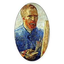 Van Gogh - Self-Portrait as an Arti Decal