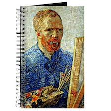 Van Gogh - Self-Portrait as an Artist Journal